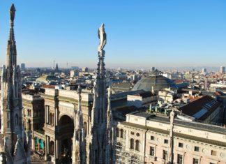 Panoramatický výhled na italský Milán | crisferra/123RF.com