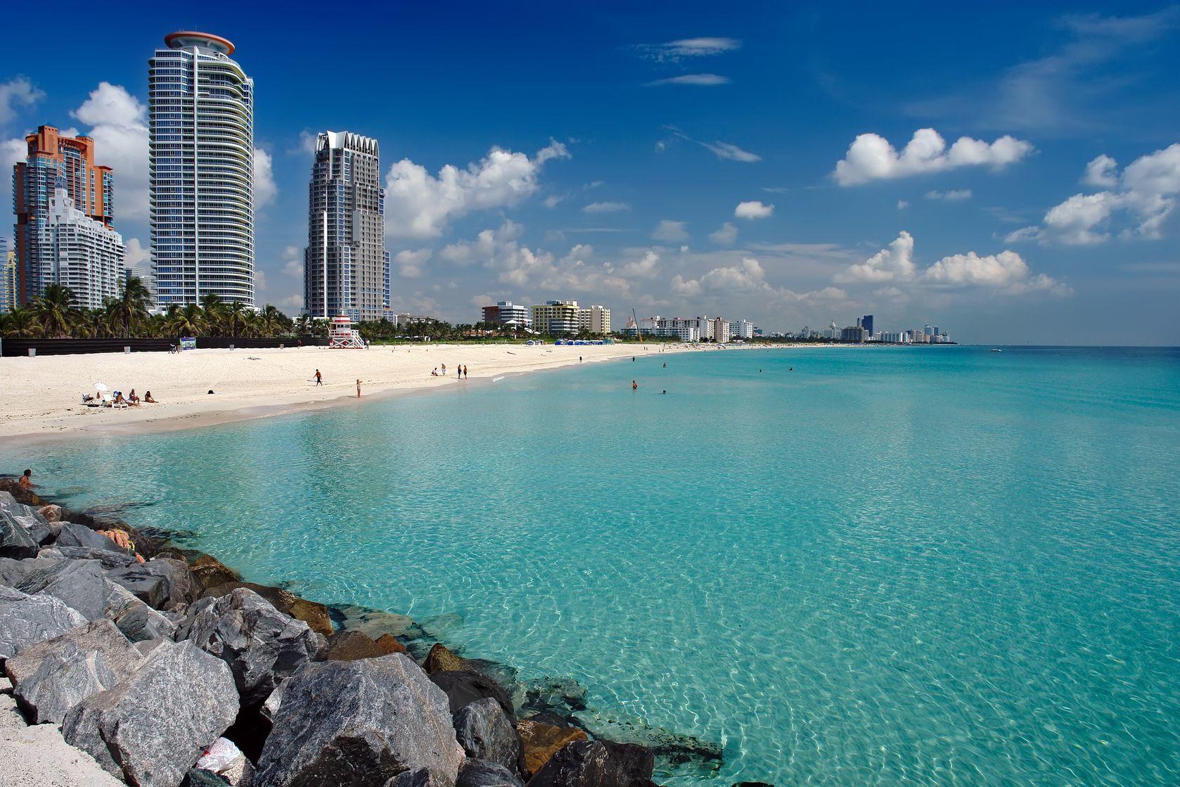 Pláž v Miami na Floridě   sborisov/123RF.com