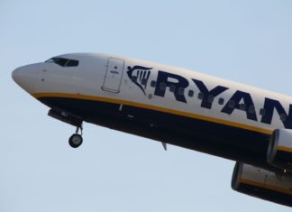 Boeing 737 společnosti Ryanair | trevorbenbrook/123RF.com