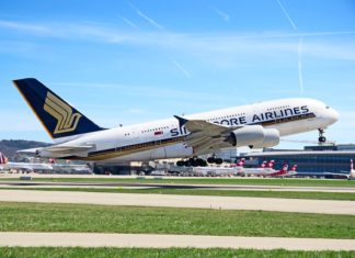 Singapore Airlines Airbus A380 | swisshippo/123RF.com