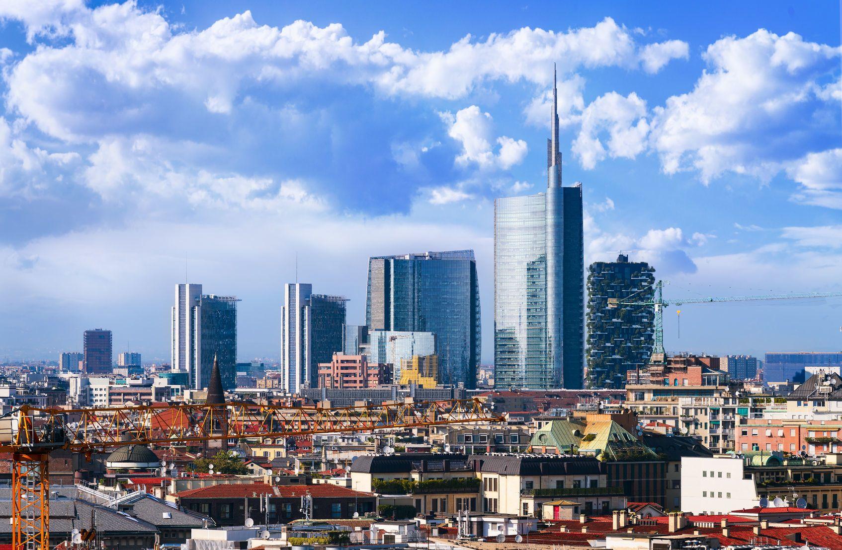 Výhled na město Milán   ventdusud/123RF.com
