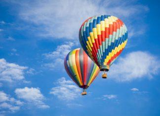 Krásné horkovzdušné balóny | feverpitched/123RF.com