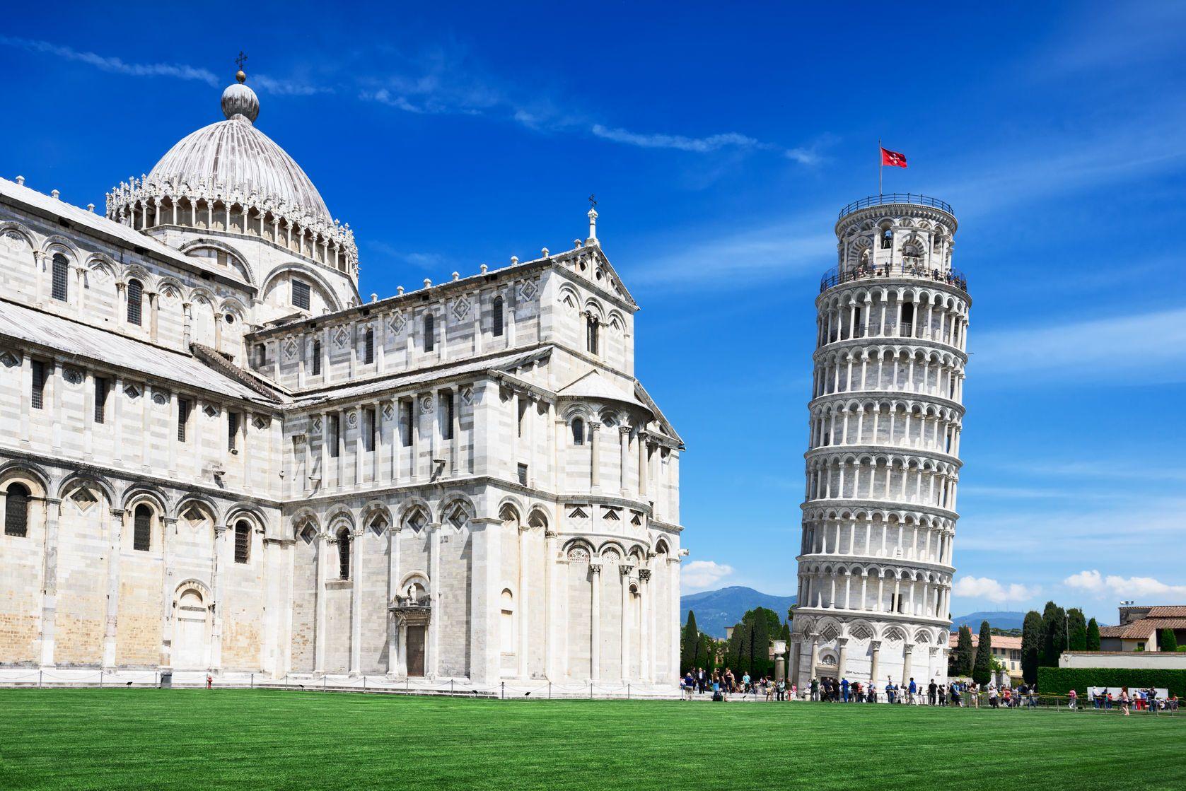 Šikmá věž v Pise v Itálii   fotomandm/123RF.com