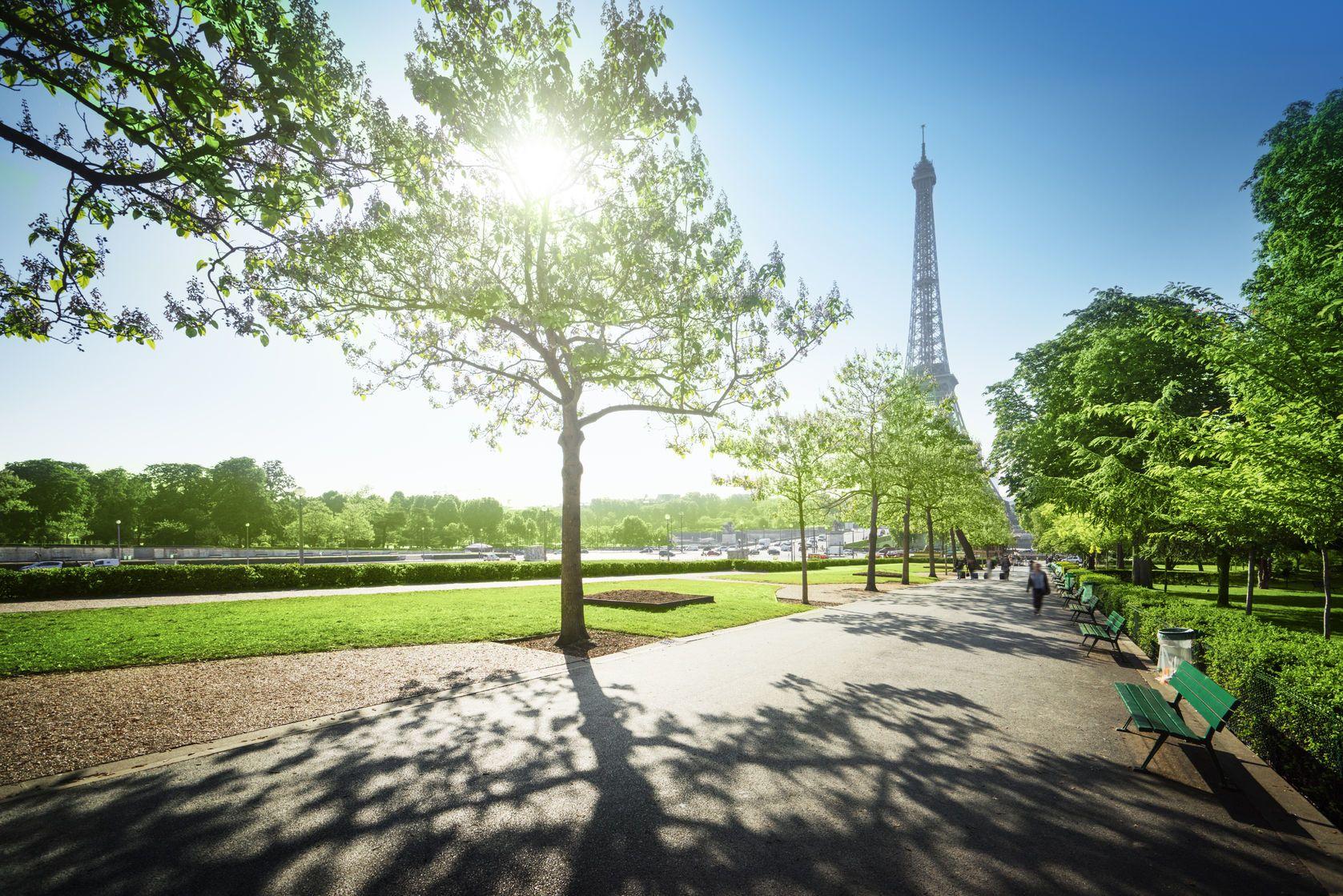 Slunečné ráno v pařížském parku | iakov/123RF.com