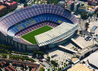 Letecký pohled na Camp Nou | jackf/123RF.com