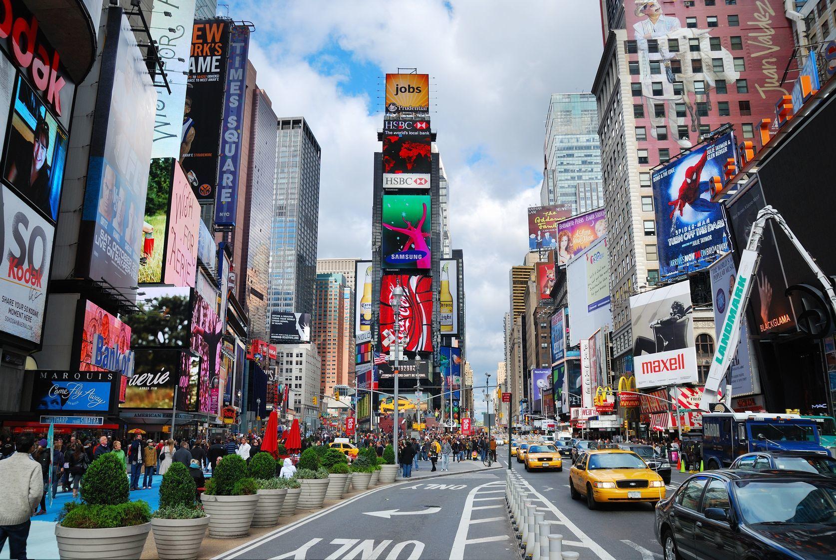 Doprava na Times Square | rabbit75123/123RF.com