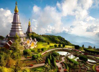 Pagoda Nabhapolbhumisiri nedaleke thajského města Chiang Mai | pat138241/123RF.com
